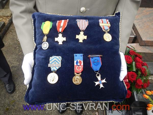 médailles militaires UNC